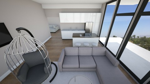 Mielo Plays A_3 - Living room - by kashamitchel
