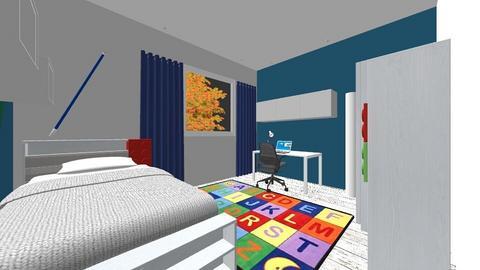Pokoj  dzienny i dzieci - Living room - by DERRYS