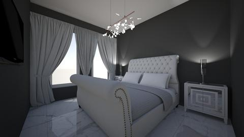 quarto de hospede 01 - Masculine - Bedroom - by kelly lucena