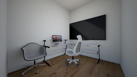 NEW PRODUCTION LAYOUT - Modern - Office - by MavsZane