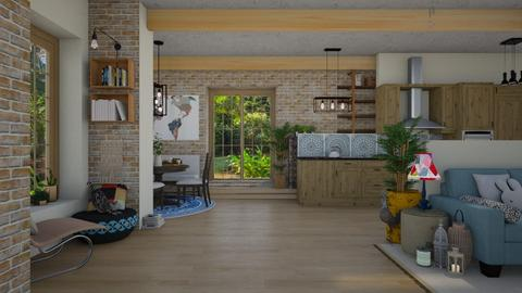 Boho Kitchen - Kitchen - by Nicky West