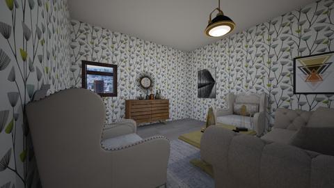 American living room - Living room - by Deyana Cvetkova