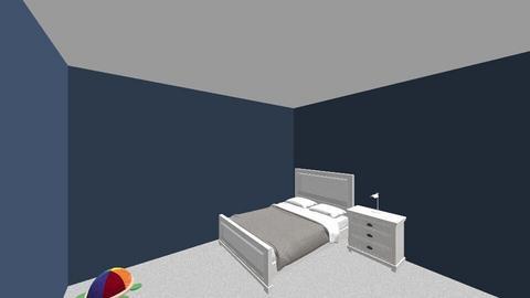 Toby Evans - Bedroom - by doraldragons
