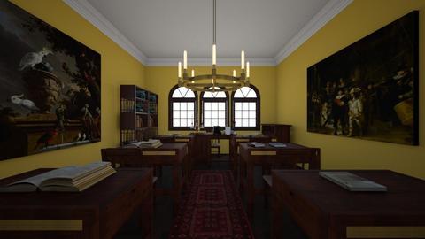 The Academy_Classroom - Classic - by Jojo_bear27