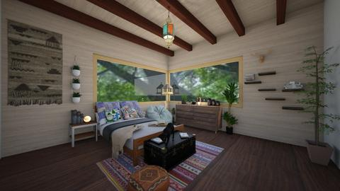 Rhona - Eclectic - Bedroom - by RhonaFiles