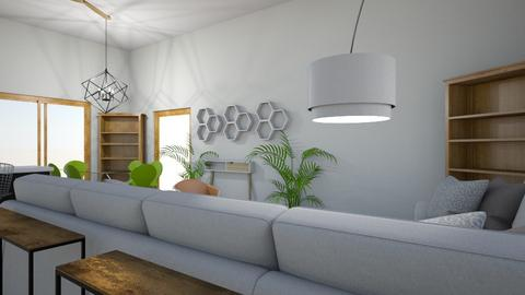 LaTanya Cabin Redisign - Living room - by aletheawise