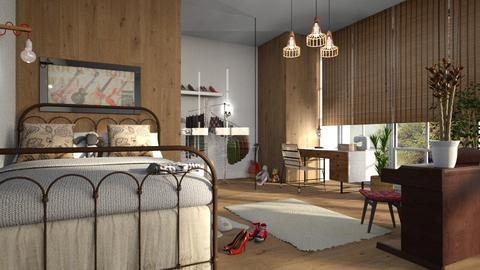 Teenage_Room - Bedroom - by ZuzanaDesign