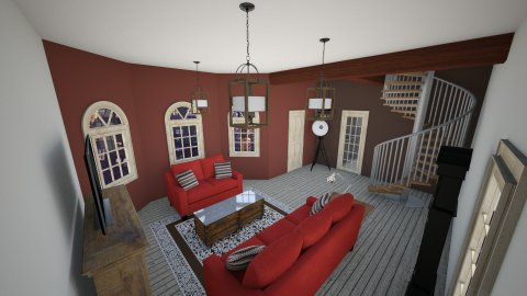 living roomazooo - Retro - Living room - by MarquiGames