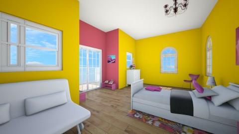 Paris Bedroom - Bedroom - by BennLK32