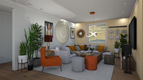 VK Open Space 3 - Living room - by JarkaK