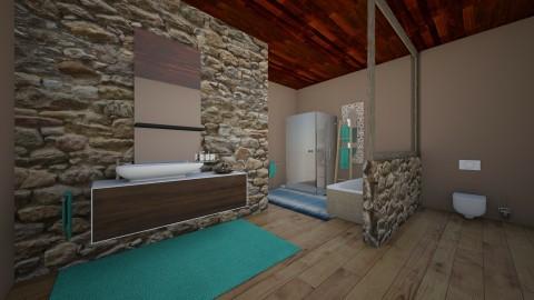 green - Bedroom - by beluu