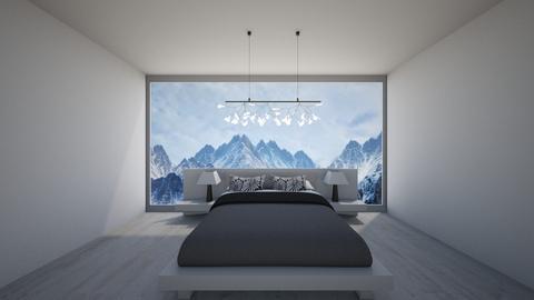White Room - Minimal - Bedroom - by GinnyGranger394
