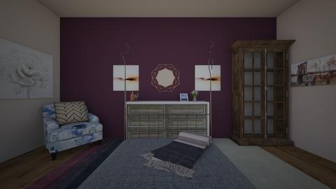 Damson Dream - Bedroom - by LaxNat