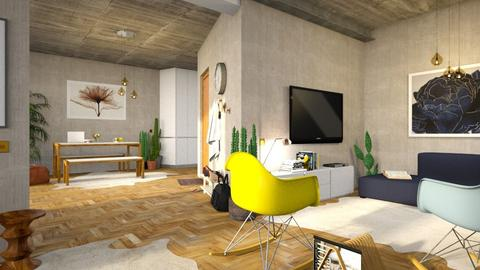 Living room and kitchen - by bnu
