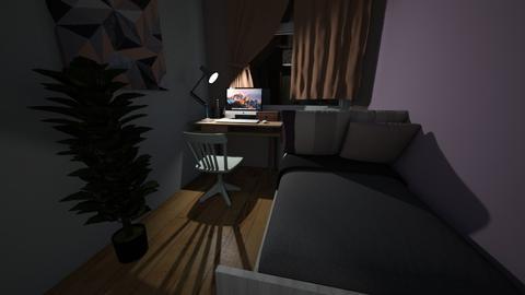bedroom - Classic - Bedroom - by elawitkowska