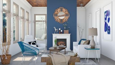 Skyloom - Living room - by Liu Kovac