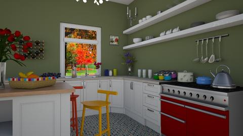 Kitchen 2  - Classic - Kitchen - by Dragana2212