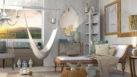 Ship Shape - Vintage - Bedroom - by Gurns