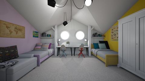kids room - by majamm