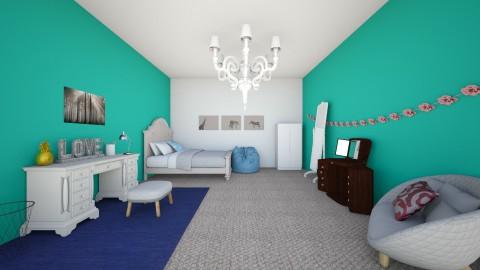 Emmas Room - Global - Bedroom - by Rose Gold