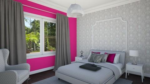 Teen Bedroom 2b - Eclectic - Bedroom - by corbu_cat