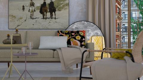 Quite Beige - Modern - Living room - by HenkRetro1960