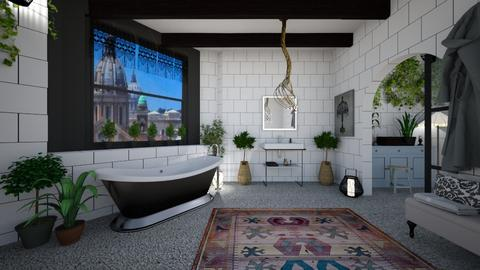 BOHO BATH - Bathroom - by rasty