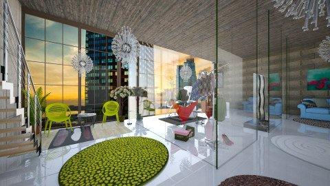 Fashion magazine office - Modern - Office - by Mihailovikj Mimi