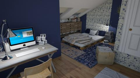 coole slaapkamer girl - by leger1234567890