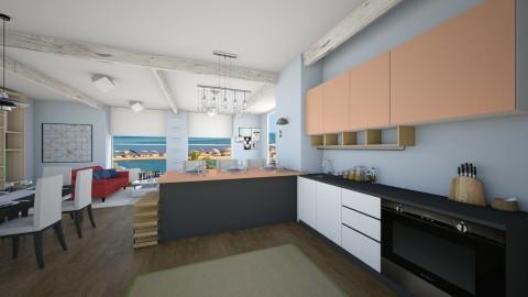 Holiday - Kitchen - by Eduss