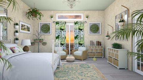 Urban Jungle Bedroom - Bedroom - by Tzed Design