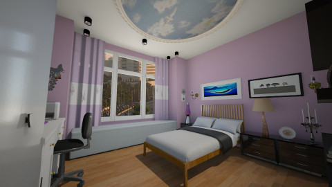 girl wish - Modern - Bedroom - by Navnita