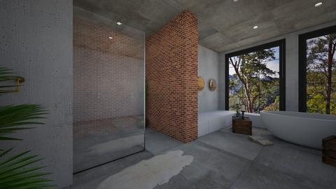 lux bathroom - by oggienarna