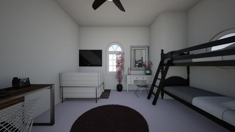 tinted pink cherryblossom - Modern - Bedroom - by ashlynn eeek
