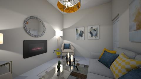 Floor Plan  Module 8 - Living room - by helenacollins