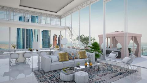 Penthouse Vacation - Living room - by bgref