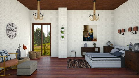 room  - Eclectic - Bedroom - by HannaTOTE