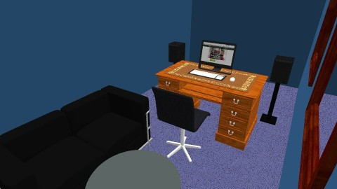 Recording studio - Glamour - Office - by kkerver
