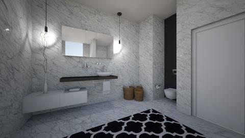 marble_bathroom1 - Bathroom - by MaluMeyer
