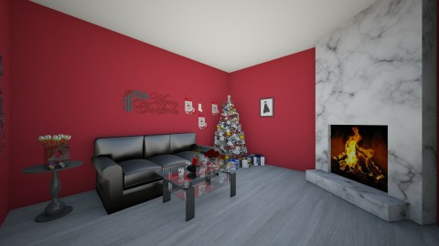 Magic - Living room - by Evly97