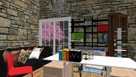 office rooom - by jorangeey