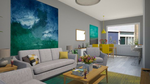 For Vincent 2 - Eclectic - Living room - by Theadora