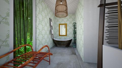 Bamboo Bathroom - Bathroom - by mjz6202007