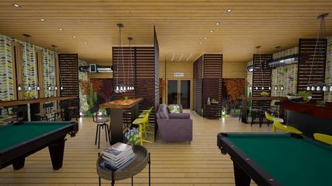 bar pub - Living room - by intdeson