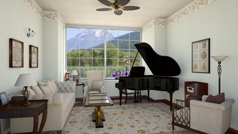 Piano Room - Classic - by Psweets