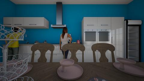 8 - Kitchen - by Katerinebel
