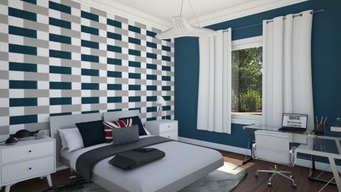 Teen Bedroom Boy 1 - Eclectic - Bedroom - by corbu_cat
