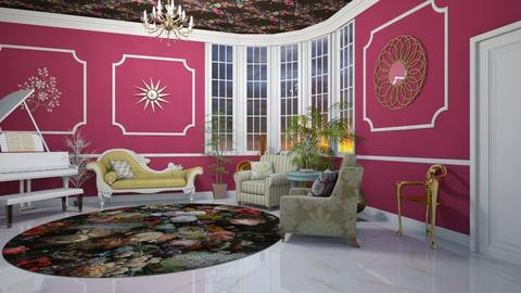 Maximalist Living Room - Living room - by zizzy