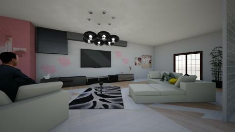 Live here - Living room - by Sara Balerina