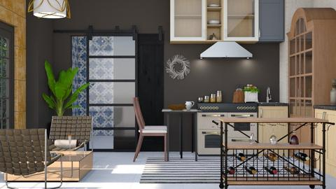 Boho Coma - Modern - Kitchen - by Gurns